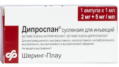 Дипроспан при лечении псориаза