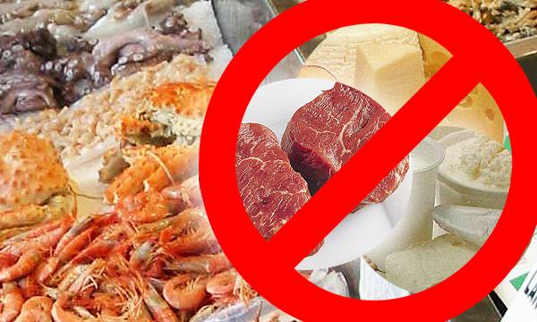 Список запрещенных продуктов при псориазе