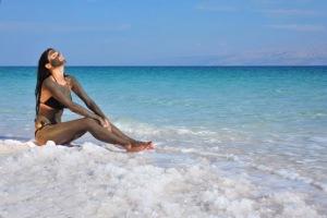 Процедуры с грязями на берегу Мертвого моря