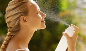 Термальная вода для увлажнения