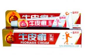 Китайский крем Псориазис