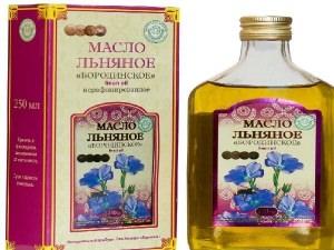Лечение псориаза льняным маслом