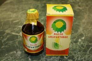 Amarantovoe-maslo