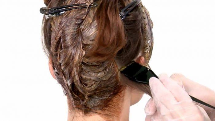 Покраска головы при псориазе